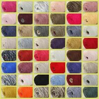 Sale New 1Cone 400g Soft Worsted Cotton Chunky Super Bulky Hand Knitting Yarn