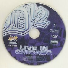 D12 : Live In Chicago - DVD Disc Only - Replacement Disc