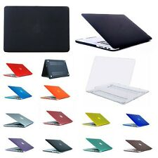 Hard Plastic Cover Case Shell for Macbook Pro Air Retina 13 15 inch varies color