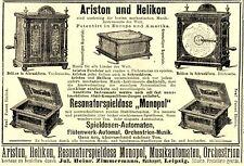 Mechanical Instrument Music Box Automaton Music Machine Ariston Helikon (N)