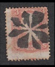 US BOLD FANCY CANCEL 1861-69 Washington 3c Abstract Circular Wedges A5