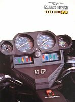Moto Guzzi Motorcycle Brochure, 1000SP, 1970's Original