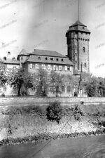 Negativ-Nürnberg-Gebäude-Burg-Schloss-Turm-Architektur-1920er Jahre