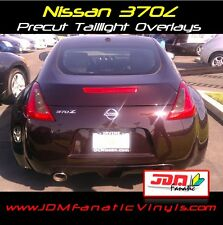 370z tail light Overlays Reverse TURN Signal SMOKE TINT Vinyl Film JDM PRECUT
