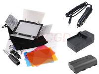 yongnuo YN-160 LED Video Light Power Kit For Canon Nikon Camera