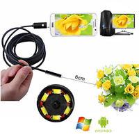 A49 profi Endoskop Wasserdicht 7mm USB Inspektion Kamera Android PC Smartphone