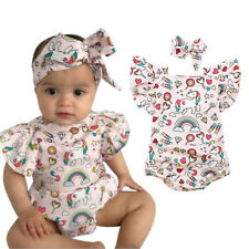 Euro Printed Sleeveless Cute Baby Rompers - Pink (XYG062602PN)
