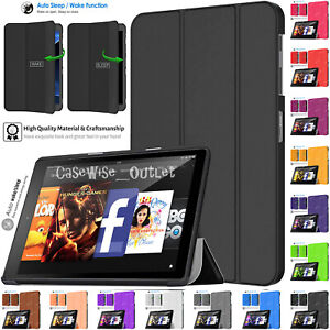 "Magnetic Leather Smart Flip Stand Case Cover For Amazon Kindle Fire HD 10"" 2019"