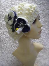'Marshmallows' Ladies Hat - Easy Knitting Pattern