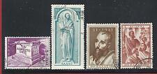1951 GRECIA/GREECE, n° 571-574  4 valori  SERIE USATA