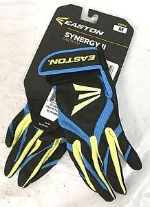 Easton Youth Synergy II Fast Pitch Batting Gloves, Size Medium - 0E_64