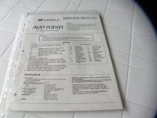 Sansui Factory Original Service Manual AVP-701XR  AV Surround Processor