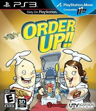 Order Up PS3 - LN - Game Disc Only
