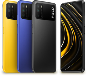 Xiaomi Poco M3 4GB 128GB Smartphone 6,53 FHD+ Dot-Drop-Display 48MP 6000mAh EU
