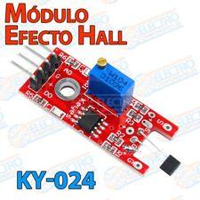 Modulo sensor efecto Hall KY-024 salida analogica digital magnetico - Arduino El