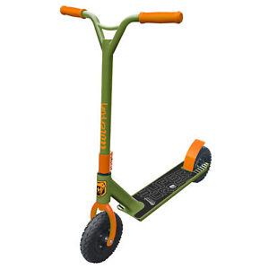 New Adrenalin Super Cross Off-Road Dirt Scooter Kids/Adult Trick – Orange