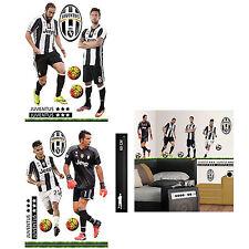 North Star Juventus 4 Top Players Decorazione murale Prefustellata adesiva PVC
