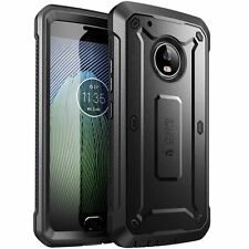 SUPCASE Moto G5 Plus FullBody Rugged Holster Case with Built-in Screen Protector