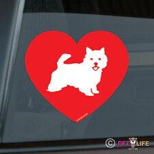 Love Norwich Terrier Sticker Die Cut Vinyl