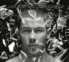 NICK JONAS Last Year Was Complicated Deluxe 2016 18-track CD digipak
