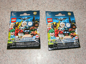 2 New LEGO The Batman Movie Series 2 Collectable Minifigure Series 71020