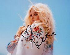 Kesha signed 8x10 photo ke$ha