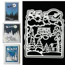Xmas Metal Cutting Dies DIY Craft Stencil Paper Card Decor Die Cuts Scrapbook