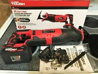 New Hyper Tough HT Charge 20V Reciprocating Saw Aq8002G
