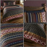 Orkney Indian Ethnic Decorative Print Duvet Quilt Cover Set Bedding Set Multi