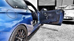 2x BMW E92 COUPE M3 + 07-13 * 1mm CARBON FRONT Door Card Panels* Race Track Car