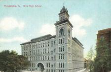 Postcard Girls High School Philadelphia Pennsylvania