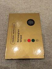 Haruki Murakami NORWEGIAN WOOD box set 2 paperback Ted Smart Harvill 2000 NrFine