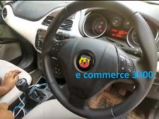 STEMMA BADGE ADESIVO STERZO VOLANTE ABARTH FIAT 500 GRANDE PUNTO 595 695 SPORT