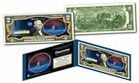 Space Shuttle DISCOVERY Missions Official Legal Tender U.S. $2 Bill NASA