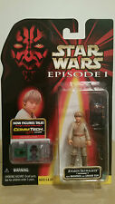 ANAKIN SKYWALKER (TATOOINE) with BACKPACK and GREESE GUN Star Wars Episode 1 MOC