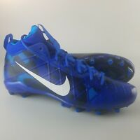 Nike Field General Elite 3 TD Football Cleats Men's Size 15 Camo Blue White