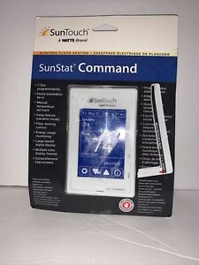 SunTouch Sunstat Command 7-Day Programmable Thermostat 81019086 - NEW