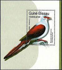 "1989 ""Guinea-Bissau"" Birds, Dove, Pigeon Souvenir Sheet VFMNH! LOOK!"