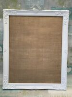 Frame Hessian Backed A2 Vintage  Rustic DIY Wedding Table Seating Plan Sign