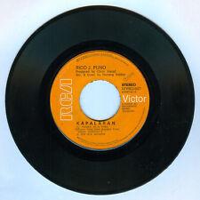 Philippines RICO J. PUNO Kapalaran OPM 45 rpm Record