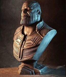 1/10 Scale Thanos Bust, Unfinished, Unpainted (R)