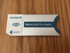 SanDisc memory stick duo adaptor