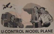 Indoor Remote Control Model PLANE 1952 How-To build PLANS