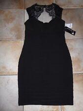 NEW Ladies TK Maxx SCARLETT NITE Black Evening Party Dress UK 10