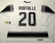 LUC ROBITAILLE - size XL - Los Angeles Kings CCM 550 VINTAGE Hockey Jersey white