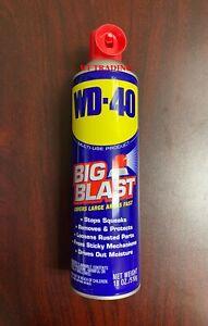 WD-40 Multi-Use Big-Blast Lubricant ~ Moisture Rust Remover Auto Boat 18oz Spray