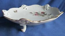 Rosenthal, Gebäckschale 20 cm, Durchbruch, Dreibein, Moliere Rose, elfenbein