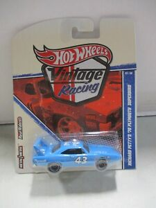 Hot Wheels Vintage Racing Richard Petty's 1970 Plymouth Superbird