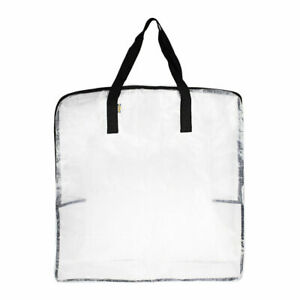 IKEA DIMPA Large Clear Transparent Plastic Zipped Storage Bags SAME DAY POST