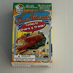 Re-ment 2006 Puchi Petite Fun Meals- Seafood Surprise- RARE RETIRED